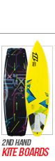 2nd hand kite boards