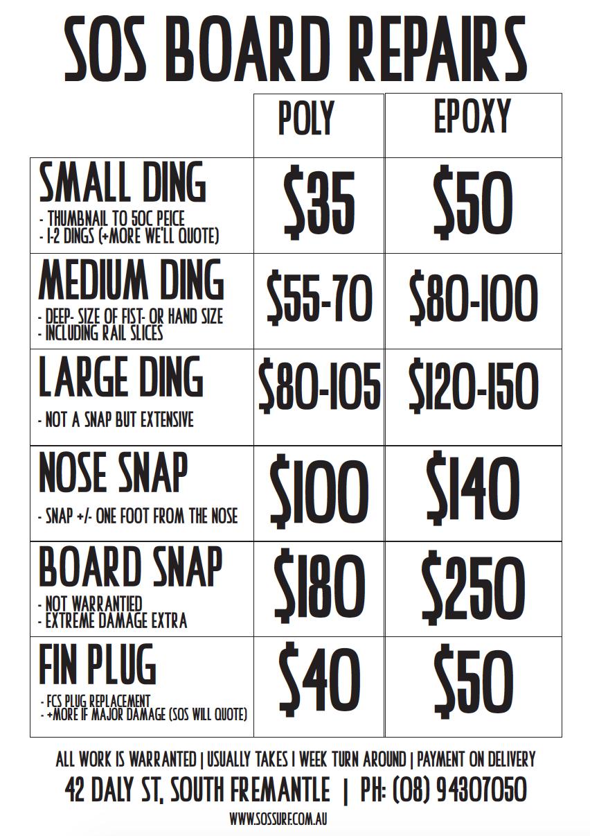 Repair Pricing